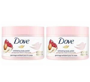 2 Pack Dove Exfoliating Body Polish Pomegranate Seed Shea Butter 10 5 Oz 11111002029 Ebay