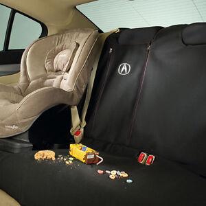Genuine OEM Acura TL Black Rear Seat Cover EBay - Acura tl seat covers