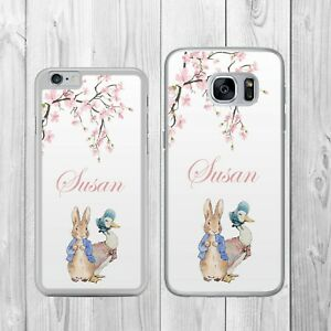 Beatrix Potter Personalised Rabbit Duck Phone Case Cover For Iphone Samsung Ebay