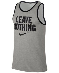 Nike-NEW-Gray-Mens-Size-Medium-M-Leave-Nothing-Graphic-Print-Tank-Top-25-295