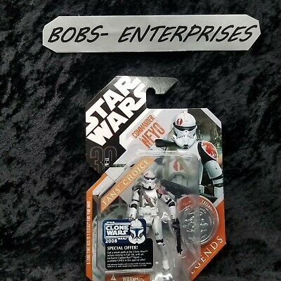 Star Wars 30th Anniversary Saga Legends Commander Neyo Fans Choice b-40