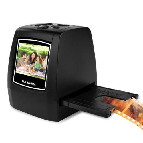 Digital Image Converter 35mm USB//SD Pyle Film Scanner /& Slide Digitizer