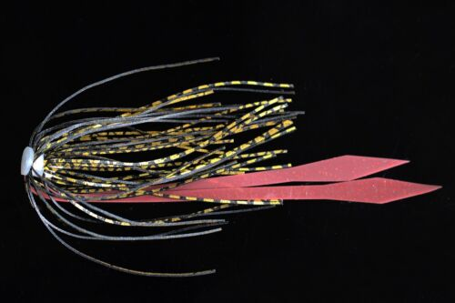 7 pcs Silicone Skirts Streamer Spinnerbaits Buzzbait Squid Rubber Fishing Lures