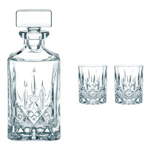 Nachtmann-Noblesse-Whiskyset-Set-3tlg-Kristallgals-Whiskykaraffe-Whiskyglaeser