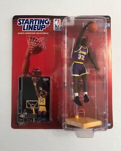 1998 NBA Starting Lineup Magic Johnson Los Angeles Lakers Action Figure