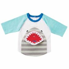 90031449 item 1 Mud Pie Baby Boy Shark Tank Snap Mouth Fish T-Shirt Size Sm  (12-18Mos) NEW -Mud Pie Baby Boy Shark Tank Snap Mouth Fish T-Shirt Size Sm  (12-18Mos) ...