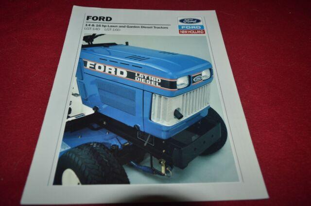 Ford LGT-14D LGT-16D Diesel Lawn /& Garden Tractor Dealer Brochure DCPA10