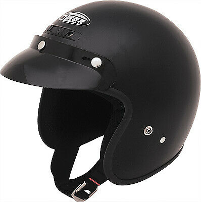 GMAX GM2 Open Face Solid Helmet 3//4 Youth Sizes ATV Motorcycle