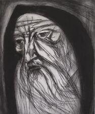 """JEREMIAH"" By Irving Amen - Original S/N Woodcut-RARE! A/P ""Make Offer"" MINT!"