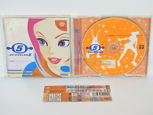Dreamcast-SPACE-CHANNEL-5-with-SPINE-Sega-Japan-dc