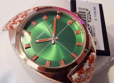 Tela Unisex PouleCorrea HoraPied RoccobaroccoRb0087Solo PielEbay Reloj De BWoexrdC