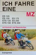 Reparaturanleitung Ich fahre eine MZ ES 125 150 175 250 & ETS Stil DDr  Buch VEB