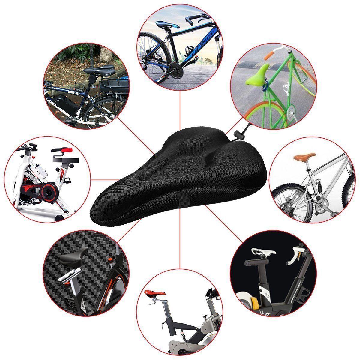 bike extra comfort soft gel pad comfy