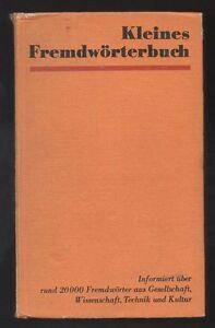 Kleines-Fremdwoerterbuch-DDR-Jugendbuch-Sachbuch-mit-Inhaltsangabe