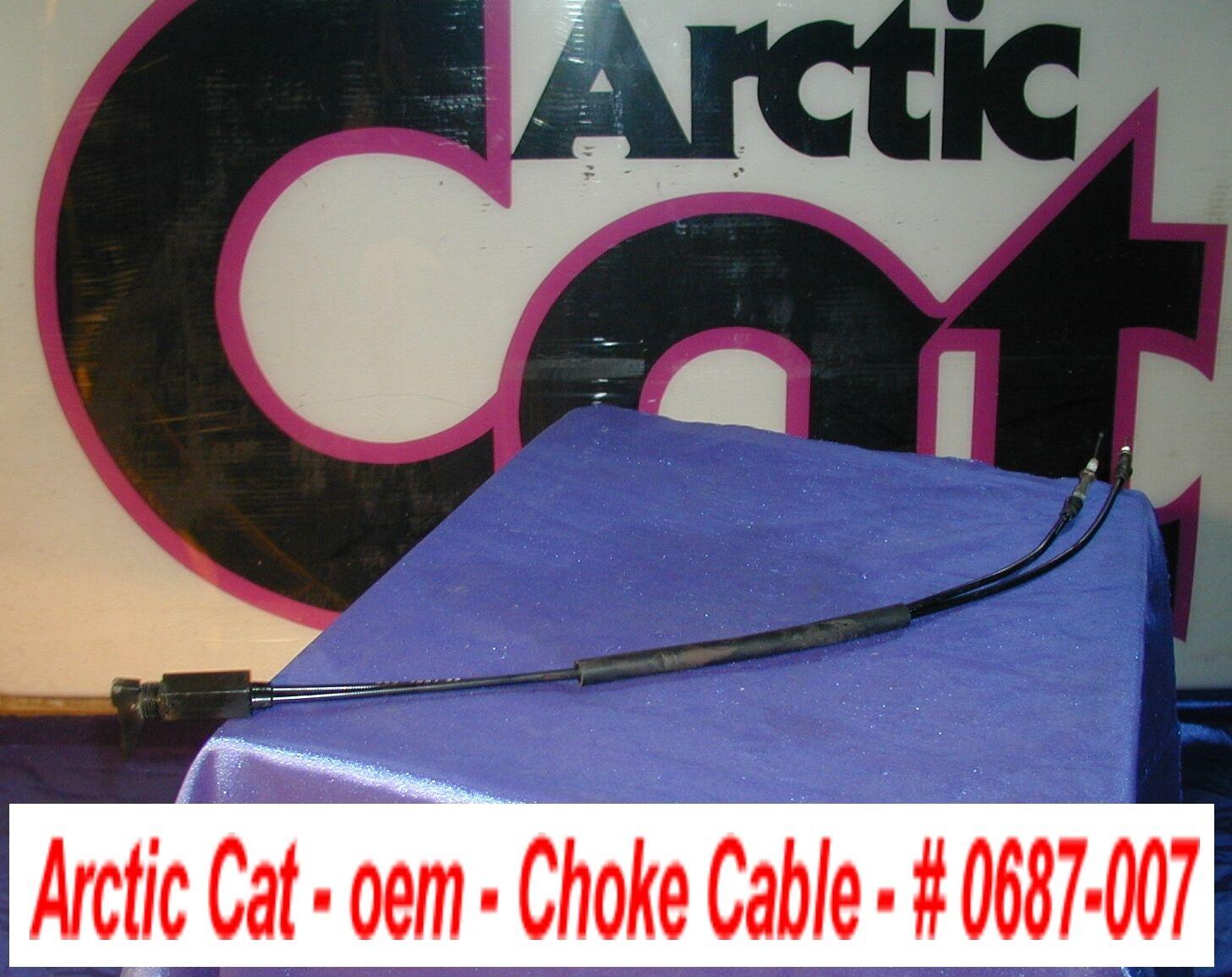 Arctic Cat Snowmobile Choke Cable