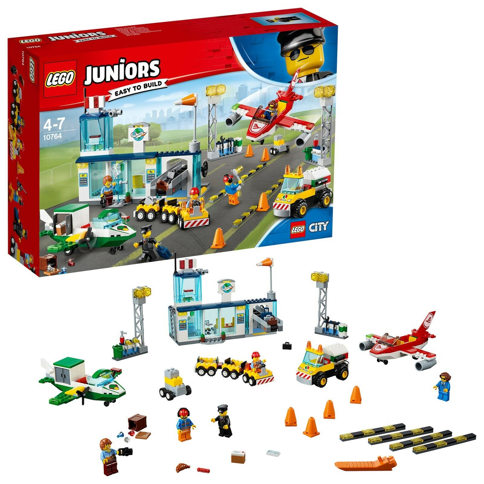 LEGO® Juniors 10764 10764 10764 Flughafen NEU OVP_ City Central Airport NEW MISB NRFB ae247f