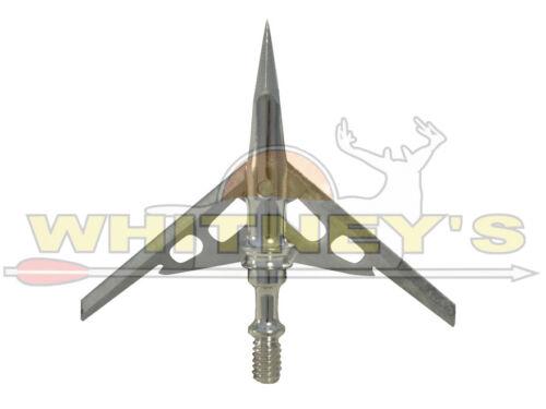Rage Hypodermique Extensible Mécanique Broadhead 100 g Full Assembly 3 Pique Coton
