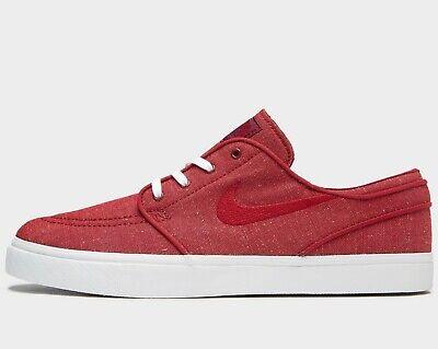 ⚫ 2019 Nike SB Zoom Stefan Janoski Toile ® (Hommes Taille UK 7 EUR 41) Red Crush | eBay