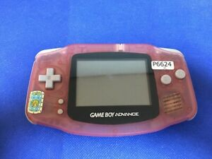 P6624-Nintendo-Gameboy-Advance-console-Milky-Pink-GBA-Japan-Junk-For-parts-DHL