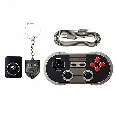 8bitdo Wireless Bluetooth Pro Gamepad NES30 for Windows Mac Android and IOS
