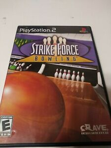 Strike Force Bowling Playstation 2 PS2 Video Game Complete Works Good