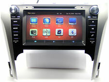 "8"" Touch Screen Car Radio DVD Player GPS Navigation For Toyota Camry +NEW 3D Map"