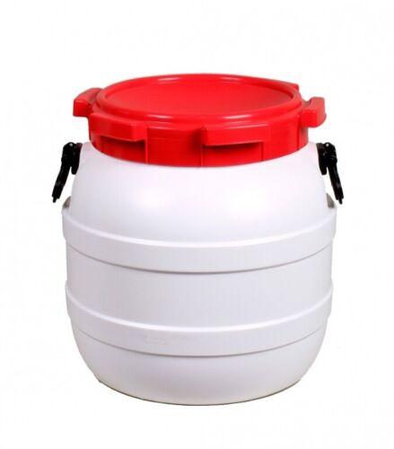 BasicNature Weithalstonne 41,5 Liter rund Bootstonnen Gepäcktonne Schutztonne