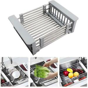 Telescopic-Sink-Drain-Baskets-Stainless-Steel-Dish-Water-Filter-Rack-For-Kitchen