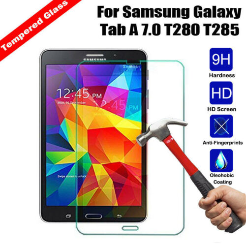 Premium Tempered Glass Screen Protector For Samsung GALAXY Tab A 7.0 T280 T285