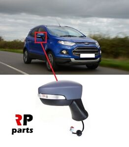 Para-Ford-Ecosport-13-17-Ala-Espejo-electrico-climatizada-5-Pin-IMPRIMADO-DERECHO-O-S-LHD