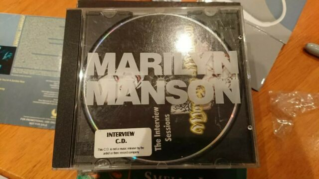 Marilyn Manson - Interview Sessions (Parental Advisory, 1997) Chat Back Records