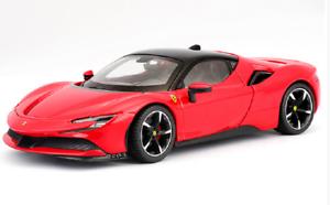 Bburago-1-24-Ferrari-SF90-Stradale-Diecast-Model-Sports-Racing-Car-NEW-IN-BOX