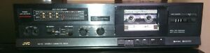 Vintage JVC KD-X1j Stereo Cassette Deck, Dolby, 4 Track, 2 Channel, Works Great!