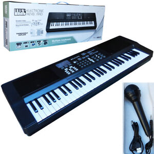MUSIC Kids 61 Keys Electronic Keyboard Piano with USB MP3 Functions