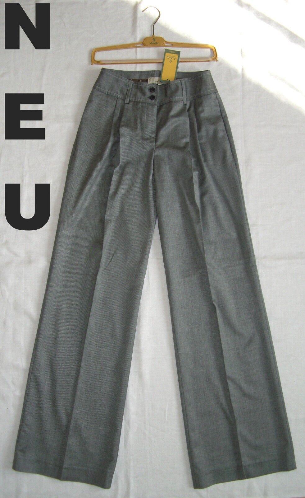 El Cabollo lyx Trousers 38 = XS  S 34  36 elegant GRE bussINS Fabric Suit Pants ny