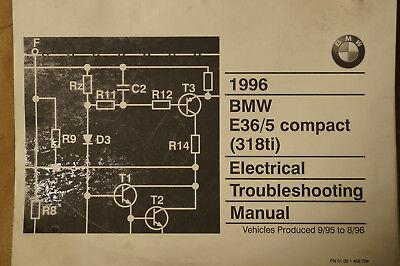 1996 BMW E36 / E35 Compact 318ti Electrical Troubleshooting Manual  Bmw Ti Wiring Diagram on