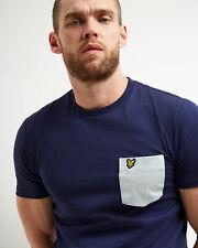 Lyle and Scott Men Contrast Pocket T-shirt - Cotton