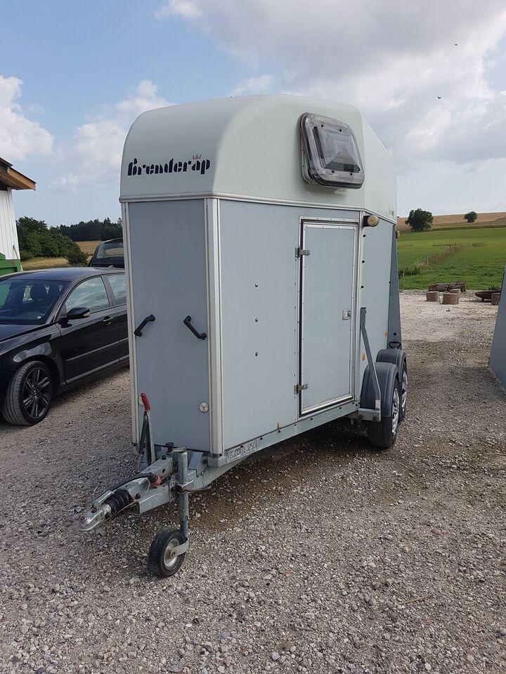 Hestetrailer, Brenderup Royal Exclusive, lastevne (kg):