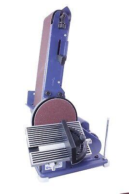 Schleifmaschine, Bandschleifer und Tellerschleifer Band 915x102mm, Teller Ø150mm