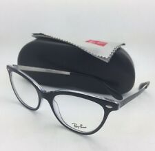 d3ea034d236 item 8 New RAY-BAN Rx-able Eyeglasses RB 5360 2034 52-18 Black on Clear  CatEye Frames -New RAY-BAN Rx-able Eyeglasses RB 5360 2034 52-18 Black on  Clear ...