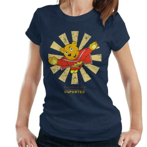 SuperTed Retro Japanese Women/'s T-Shirt