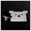 Zebra-VESA-Arm-Mounting-Plate-Clear-for-Raspberry-Pi-4B-3B-3-Pi2-Arduino miniatuur 1