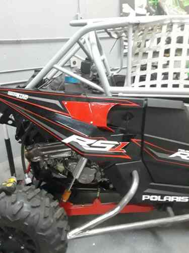 RED Polaris rs1 RS1 mega air scoops shields air scoop protection radaitor flow