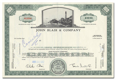 Philips Electronics /& Pharmaceutical Industries PEPI stock certificate