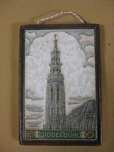 Pottery & Glass Pottery & China Porceleyne Fles Delft Tile Middelburg