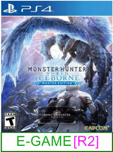 PS4-Monster-Hunter-World-Iceborne-R2-Brand-New-amp-Sealed