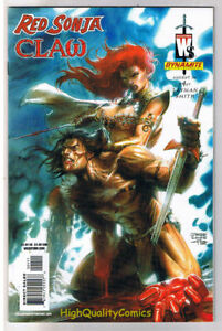 RED-SONJA-RED-CLAW-4-NM-She-Devil-Sword-Femme-Fatale-more-RS-in-store