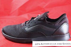 305a55854e NIB VANS ISO ROUTE (STAPLE) Black Black Ultracush Lite Skate Shoes ...
