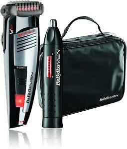 BaByliss-E846FPE-Kit-de-Barbero-y-Naricero-Uso-con-sin-cable-40-min-de-autonomia