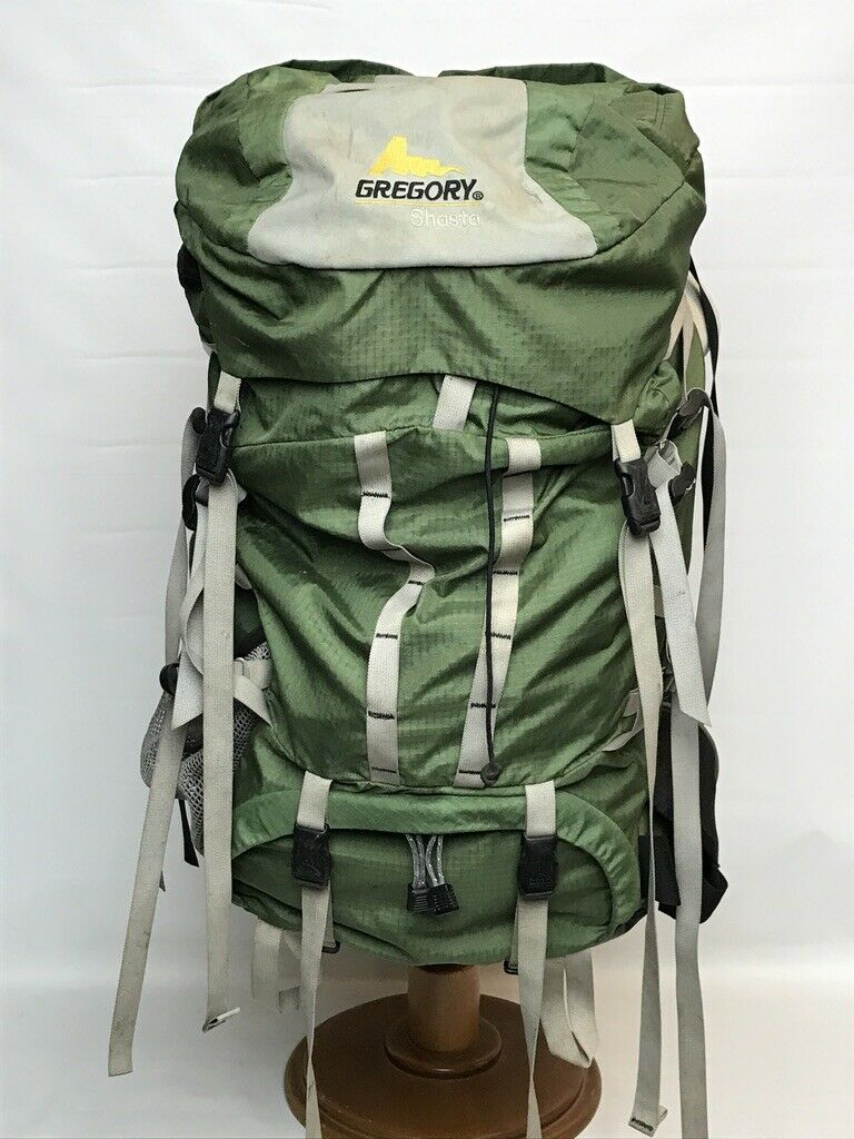 Gregory Shasta Internal Frame Backpack 4450 CI 73L campeggio Hire XS Pack S Belt